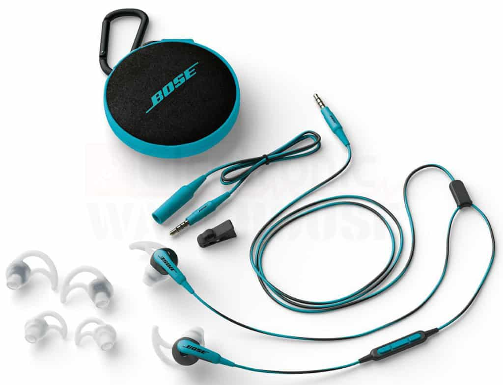 Bose SoundSport In-Ear stuff included