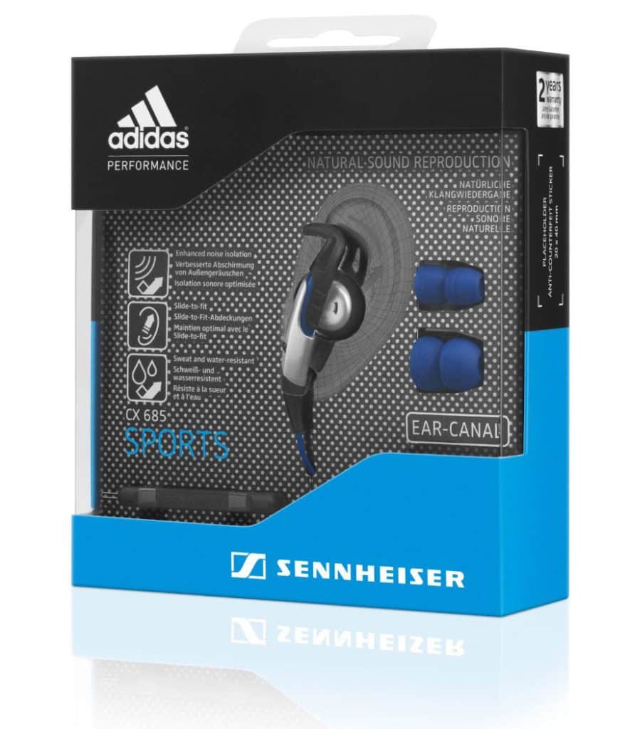 Sennheiser-CX-685-Adidas-Sports-headphones-box