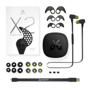 Jaybird X2 headphones packaging